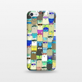 iPhone 5C  Snow? No Prob-Llama Alpaca My Board! by Amaya Brydon (alpacas,llamas,snow,snowboarding,boarders,sport,funny,pattern,illustration,extreme)