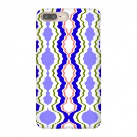 Travels by Bettie * Blue (exotic,Indian,moroccan,geometric,abstract,pattern,bright colors,fun)
