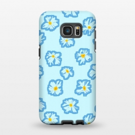 Galaxy S7 EDGE  Happy Daysies by Bettie * Blue