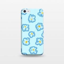 iPhone 5C  Happy Daysies by Bettie * Blue