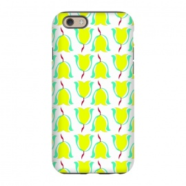iPhone 6/6s  Tulips de Chartreuse by Bettie * Blue