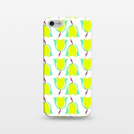 iPhone 5/5E/5s  Tulips de Chartreuse by Bettie * Blue