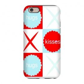 iPhone 6/6s  Hugs & Kissies by Bettie * Blue