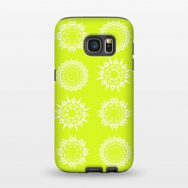 Galaxy S7  Oh Chartreuse! by Bettie * Blue