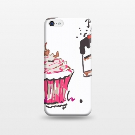 iPhone 5C  Cake Love by MUKTA LATA BARUA (cake,pastry,drawing,vector,graphic,sweets)