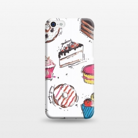 iPhone 5C  Dessert Love by MUKTA LATA BARUA (cake,pastry,sweet,dessert,food,illustration,art,graphic,print)