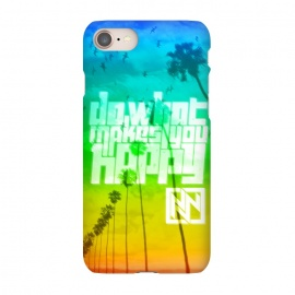 iPhone 7 SlimFit Do What Makes You Happy by Nicholas Wolf (Beach,Ocean,Hipster,Nicholas Wolf,Happy)