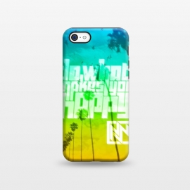 iPhone 5C  Do What Makes You Happy by Nicholas Wolf