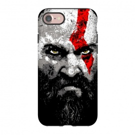 iPhone 8/7  Kratos by Mitxel Gonzalez (kratos,god of war,videogames,gamer,gamers,fan art,videojuegos,godofwar)