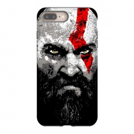 iPhone 7 plus  Kratos by Mitxel Gonzalez (kratos,god of war,videogames,gamer,gamers,fan art,videojuegos,godofwar)