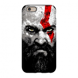 iPhone 6/6s  Kratos by Mitxel Gonzalez (kratos,god of war,videogames,gamer,gamers,fan art,videojuegos,godofwar)
