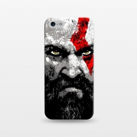 iPhone 5/5E/5s  Kratos by Mitxel Gonzalez (kratos,god of war,videogames,gamer,gamers,fan art,videojuegos,godofwar)