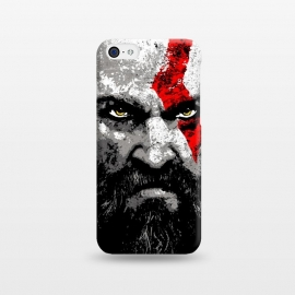 iPhone 5C  Kratos by Mitxel Gonzalez (kratos,god of war,videogames,gamer,gamers,fan art,videojuegos,godofwar)