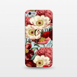 iPhone 5/5E/5s  Velvet by Uma Prabhakar Gokhale (acrylic, other, pattern, vintage, floral, nature, botanical, bloom, flowers, exotic, tropical)