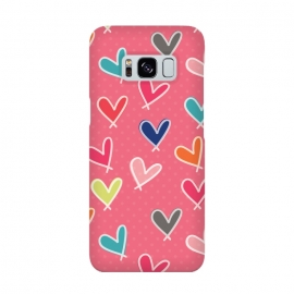 Galaxy S8  Pink Blow Me One Last Kiss by Rosie Simons