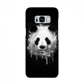 Panda Portrait in Black White by Philipp Rietz
