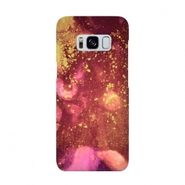 Galaxy S8  Gilded Flakes by Ashley Camille