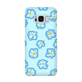 Galaxy S8  Happy Daysies by Bettie * Blue