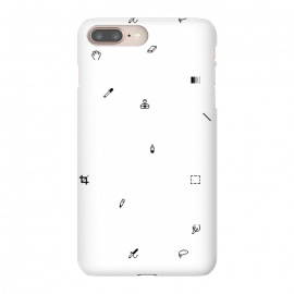 iPhone 8/7 plus  Pixel pattern by Róbert Farkas (photohop,icons)