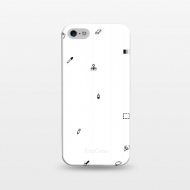 iPhone 5/5E/5s  Pixel pattern by  (photohop,icons)