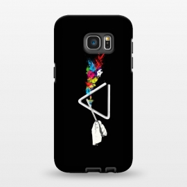 Galaxy S7 EDGE  Dark side of the tune by Xylo Riescent