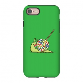 iPhone 8/7  Home Sweet Home by Xylo Riescent (Robo Rat,snail,home,house,lollipop,candy,green,funny,kids,cool)