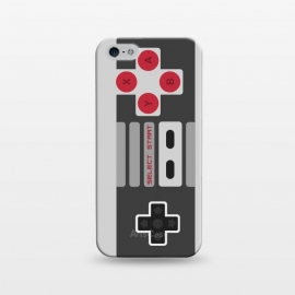 iPhone 5/5E/5s  Retro Gamer by Dellán (vintage,retro,game,video game,geek,hipster,classic,nerd,gamer,8 bit,80´s,90´s,black and white,electronic)
