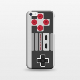 iPhone 5C  Retro Gamer by Dellán (vintage,retro,game,video game,geek,hipster,classic,nerd,gamer,8 bit,80´s,90´s,black and white,electronic)
