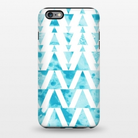 iPhone 6/6s plus  Marble triangles 2 by Laura Grant