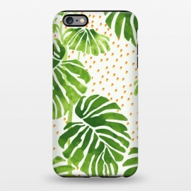 iPhone 6/6s plus StrongFit Tropical Heat 2 by MUKTA LATA BARUA (nature,botanical,spring,summer,fresh,pattern,illustration,painting,graphic,design,digital)
