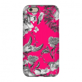 iPhone 6/6s StrongFit Spring Blooms pink by MUKTA LATA BARUA (flower,florals,pink,print,pattern,graphic,design,patterns,digital,painting)