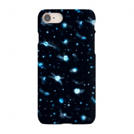 iPhone 8/7 SlimFit marble night sky by Laura Grant (marble,night sky,stars,galaxy,universe,sky,planet)