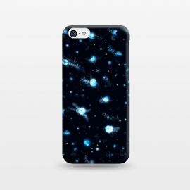 iPhone 5C  marble night sky by Laura Grant (marble,night sky,stars,galaxy,universe,sky,planet)