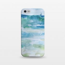 iPhone 5/5E/5s  Miami Beach Watercolor #7 by ANoelleJay