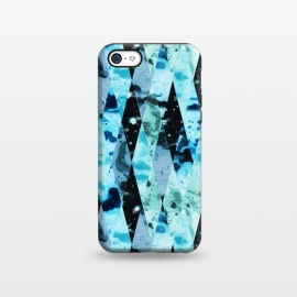 iPhone 5C  Marble diamonds by Laura Grant