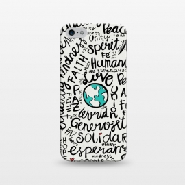 iPhone 5/5E/5s  positive messages by Pom Graphic Design ()