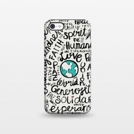 iPhone 5C  positive messages by Pom Graphic Design