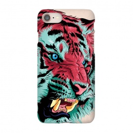 iPhone 7 SlimFit Tiger by Roland Banrévi (tiger,big cat,wild,animal,animals)