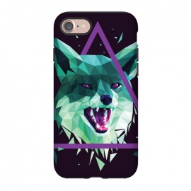 iPhone 8/7  Fox by Roland Banrévi (fox,animal,animals,poly,low poly,polygon)