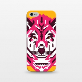 iPhone 5/5E/5s  Geometric wolf by Roland Banrévi