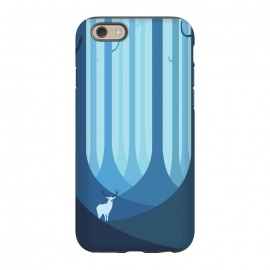 iPhone 6/6s  Blue forest by Roland Banrévi