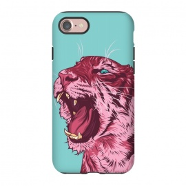 iPhone 8/7  Magenta tiger by Roland Banrévi (tiger,animal,animals,big cat)