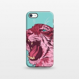 iPhone 5C  Magenta tiger by Roland Banrévi
