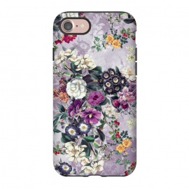 iPhone 8/7  Floral Pattern by Riza Peker (Flowers,collage,art,spring,summer,design,RizaPeker)