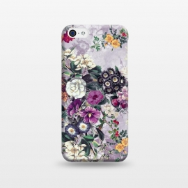 iPhone 5C  Floral Pattern by Riza Peker (Flowers,collage,art,spring,summer,design,RizaPeker)