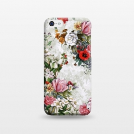 iPhone 5C  Floral Pattern II by Riza Peker (Floral,botanical,pşants,spring,summer,art,design,RizaPeker)