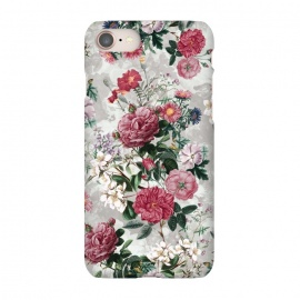 iPhone 7  Floral Pattern III by Riza Peker (Floral,design,art,RizaPeker)