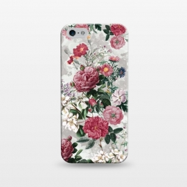 iPhone 5/5E/5s  Floral Pattern III by Riza Peker (Floral,design,art,RizaPeker)