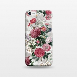 iPhone 5C  Floral Pattern III by Riza Peker (Floral,design,art,RizaPeker)