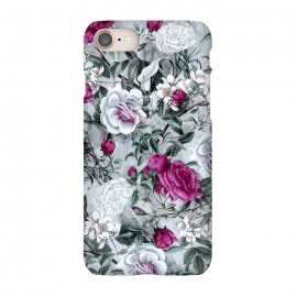 iPhone 7  Floral Pattern V by Riza Peker (flowers,roses,romantic,art,design,RizaPeker)